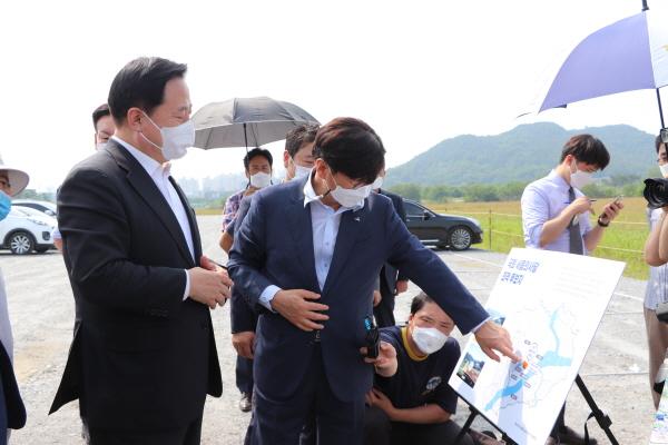 더불어민주당 대선 경선후보인 김두관 국회의원. ⓒ제주의소리
